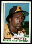 1982 Topps Traded #119 T Garry Templeton  Front Thumbnail