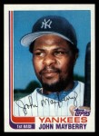 1982 Topps Traded #67 T John Mayberry  Front Thumbnail