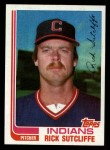 1982 Topps Traded #116 T Rick Sutcliffe  Front Thumbnail