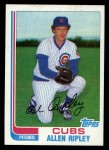 1982 Topps Traded #99 T Allen Ripley  Front Thumbnail