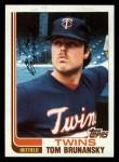 1982 Topps Traded #13 T Tom Brunansky  Front Thumbnail