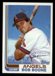 1982 Topps Traded #9 T Bob Boone  Front Thumbnail