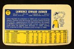 1970 Topps Super #6  Larry Dierker  Back Thumbnail