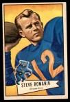 1952 Bowman Large #126  Steve Romanik  Front Thumbnail