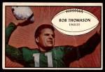 1953 Bowman #83  Bob Thomason  Front Thumbnail
