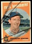 1959 Topps #191  Russ Kemmerer  Front Thumbnail