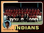1975 Topps #331   -  Frank Robinson Indians Team Checklist Front Thumbnail