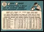1965 Topps #328  Eddie Fisher  Back Thumbnail