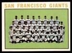 1964 Topps #257   Giants Team Front Thumbnail
