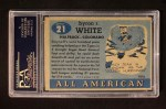 1955 Topps #21 ERR Whizzer White   Back Thumbnail