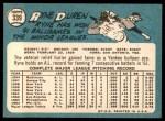 1965 Topps #339  Ryne Duren  Back Thumbnail