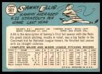 1965 Topps #507  Sammy Ellis  Back Thumbnail
