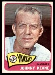 1965 Topps #131  Johnny Keane  Front Thumbnail
