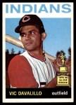1964 Topps #435  Vic Davalillo  Front Thumbnail