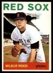 1964 Topps #267  Wilbur Wood  Front Thumbnail