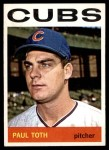 1964 Topps #309 COR Paul Toth  Front Thumbnail