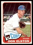 1965 Topps #436  Don Elston  Front Thumbnail