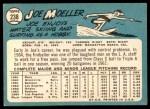 1965 Topps #238  Joe Moeller  Back Thumbnail