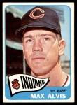 1965 Topps #185  Max Alvis  Front Thumbnail
