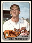 1965 Topps #343  Mike McCormick  Front Thumbnail