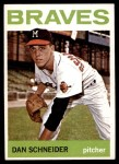1964 Topps #351  Dan Schneider  Front Thumbnail