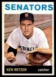 1964 Topps #277  Ken Retzer  Front Thumbnail