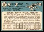 1965 Topps #321  Rusty Staub  Back Thumbnail