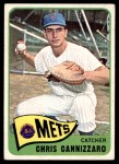 1965 Topps #61  Chris Cannizzaro  Front Thumbnail
