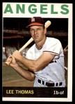 1964 Topps #255  Lee Thomas  Front Thumbnail