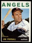 1964 Topps #586  Jimmy Piersall  Front Thumbnail
