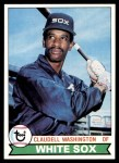1979 Topps #574  Claudell Washington  Front Thumbnail