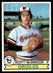 1979 Topps #393  Scott McGregor  Front Thumbnail