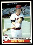 1979 Topps #63  Jack Brohamer  Front Thumbnail