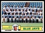 1979 Topps #282   -  Roy Hartsfield  Blue Jays Team Checklist Front Thumbnail