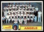 1979 Topps #424   -  Jim Fregosi  Angels Team Checklist Front Thumbnail