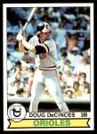 1979 Topps #421  Doug DeCinces  Front Thumbnail