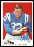 1969 Topps #229  Mike Curtis  Front Thumbnail