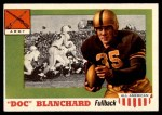 1955 Topps #59  Doc Blanchard  Front Thumbnail