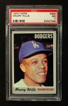 1970 Topps #595  Maury Wills  Front Thumbnail
