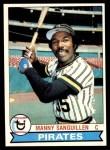 1979 Topps #447  Manny Sanguillen  Front Thumbnail