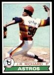 1979 Topps #590  J.R. Richard  Front Thumbnail