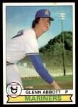 1979 Topps #497  Glenn Abbott  Front Thumbnail