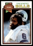 1979 Topps #317  Tom Dempsey  Front Thumbnail