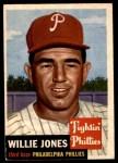 1953 Topps #88  Willie Jones  Front Thumbnail