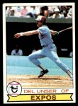 1979 Topps #628  Del Unser  Front Thumbnail
