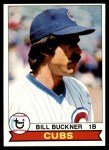 1979 Topps #346  Bill Buckner  Front Thumbnail
