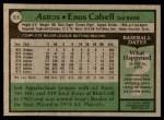 1979 Topps #515  Enos Cabell  Back Thumbnail