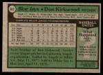 1979 Topps #632  Don Kirkwood  Back Thumbnail