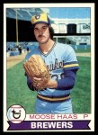 1979 Topps #448  Moose Haas  Front Thumbnail