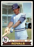 1979 Topps #490  Al Cowens  Front Thumbnail